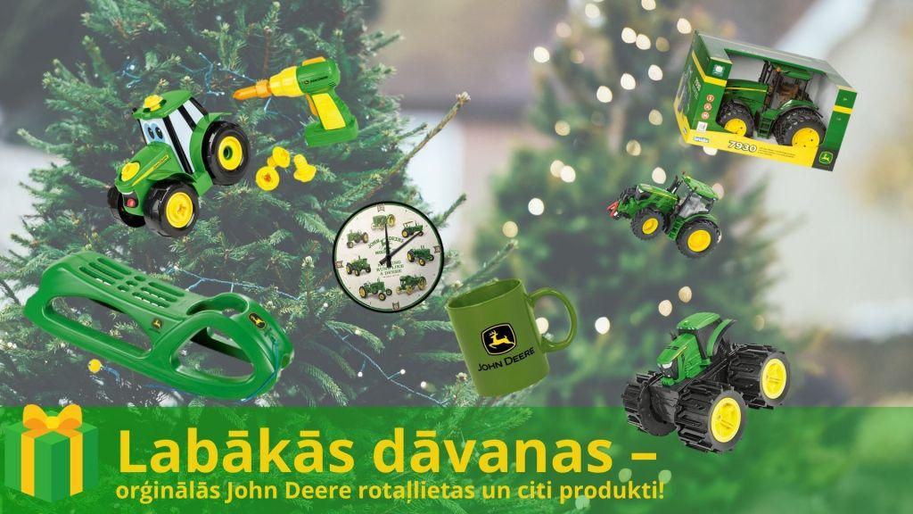 Orģinālās John Deere rotaļlietas un citi produkti